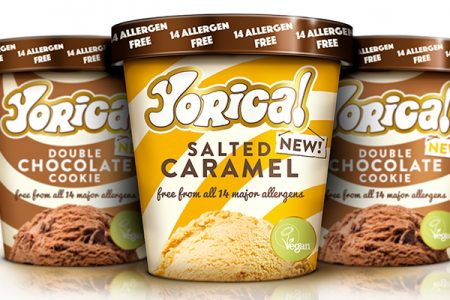 Yorica's allergen-free ice cream now in supermarkets